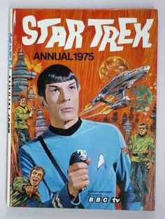 Groovy 1975 Star Trek Art for the British Comics Annual. As seen on the BBC!