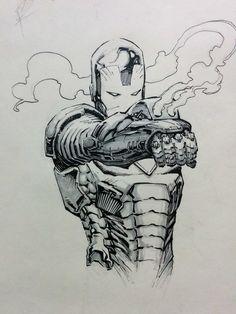 Iron Man by Sid Kotian