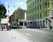 Checkpoint Charlie - Berlin 1970  we could not cross over with our passports