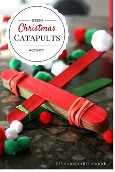 Quick and easy to do, our simple catapult is the perfect Christmas STEM project. Learn and play when you create your own easy launching machine, a catapult!