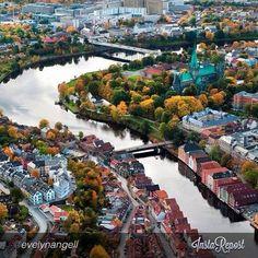 Trondheim - Instagram photo by @evelynangell #travel #norway