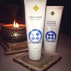 The most difficult choice that should be made on a Sunday night... Calming or Deep Detox?  #skinauthority #skincare #detox #deepdetoxritualmask #calmingmask #relax #weekendritual #sundayfunday #facemask