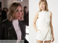 Pretty Little Liars: Season 6 Episode 8 Hanna's White Romper
