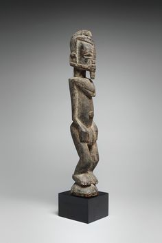 MaliA DOGON FIGURE,  Christie's London, 18 March 1980, lot 407, collected between Ireli and Banani before 1959.