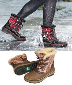 One word....AWESOME!!  Cougar Alpen Boot, Lug-Sole Boot, Weatherproof Boot, Storm Boots | Solutions