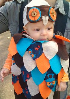adorable owl costume. for someday.