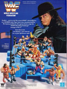 Undertaker WWF Hasbro add