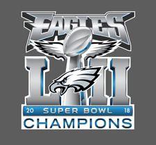 Philadelphia Eagles Super Bowl LII 52 Champions Decal 628ccd023