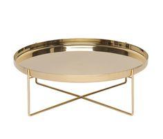 // brass habibi coffee table by philipp mainzer