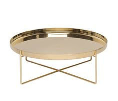 'Habibi' in brass Inspired by the typical oriental tea tables the German designer Philipp Mainzer created this family of metal side tables – made in brass, copper or steel. The delicate tables are the combination of a filigree base and a tray which can be removed from the base and used as such on its own.