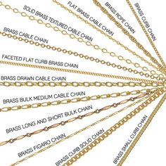 Different Brass Chains