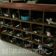 Here are a couple of things I found at an antique store last week and how I am repurposing vintage finds. Craft Show Displays, Store Displays, Display Ideas, Flea Market Booth, Shops, Creative Outlet, Antique Stores, Jewellery Display, Wine Rack