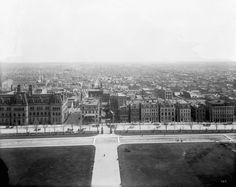 Wellington Street, Ottawa. 1889-1915. (760×605) Photo Archive, Ottawa, Paris Skyline, Cities, Canada, History, Street, Beach, Water