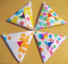 Paper Hamantashen are almost good enough to eat! Purim is just around the corner! We finally nailed down an idea for our mishloach manot and started buying supplies, and the kids decided on their c… Preschool Themes, Preschool Crafts, 3 D, Jewish Crafts, Arts And Crafts, Paper Crafts, Cricut, Holiday Crafts For Kids, Holidays With Kids