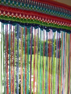 Crochet Fly-Curtain