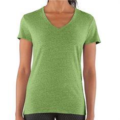 Under Armour® HeatGear® Charged Cotton® Undeniable Tee #VonMaur #UnderArmour #Green #Tee #ActiveWear