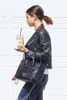 April 12: Selena seen out and about in Los Angeles, California [HQs]
