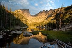 Dream Lake, Rocky Mountain National Park, Colorado. Photo courtesy of Revealed in Nature. www.revealedinnature.com