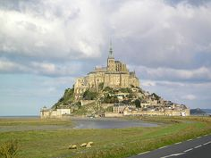Mont St. Michel A 12-day Catholic Pilgrimage to France & Spain  Including Paris, Lisieux, Normandy Beaches, Mont St. Michel, Chartres, Nevers, Paray le Monial, Ars, Lyon, Lourdes, Montserrat, Barcelona & more.