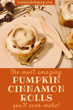Homemade Pumpkin Cin