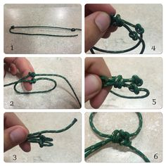 DIY reptile harness step by step photos . 1. Make two knots equally separated 2/3. Loop then to creat head and body openings 4. Begin tying a double slip not BEHIND original knots (tail end leading AWAY from knots) 5. Tie off and adjust as needed