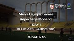 LIVE - Men's Olympic Games Repecharge - Day 1 - Monaco