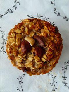 Kouzlo mého domova: Banánové muffiny s ořechy a nutelou - bez mouky Apple Pie, Cupcakes, Menu, Cooking, Desserts, Food, Menu Board Design, Kitchen, Tailgate Desserts