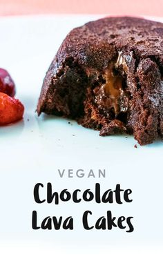 These vegan Chocolate Lava Cakes are a delightfully simple, indulgent chocolate dessert. Dairy free AND egg free but still a delicious pudding, perfect for more special occasions.