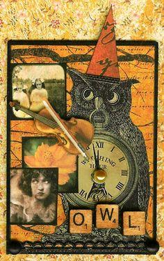 'Owl Hollow II' by Kris Dickinson