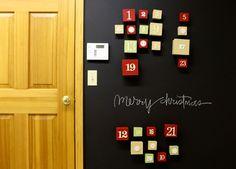 Magnetic Chalk board Wall!