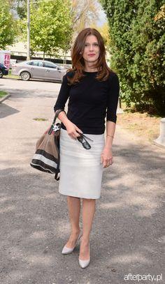 Joanna Sydor na pokazie butów Nessi