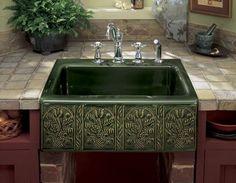 Very Attractive Apron Kitchen Sink Decoration