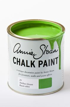 <p>The neoclassical palette included this bright green, sometimes pure and sometimes lightened with white. The colour is also found on rustic country furniture from Ireland and the south of France – a look which is beautifully achieved with Dark Wax.</p> <p>Available in 100ml small project pots and 1 litre tins.</p>