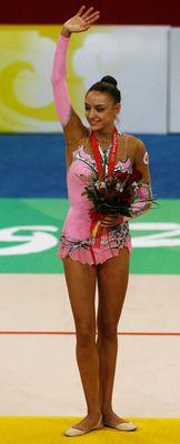 Yevgeniya Kanayeva - Russian Rhythmic Gymnast.