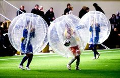 """So it's just like regular soccer. 