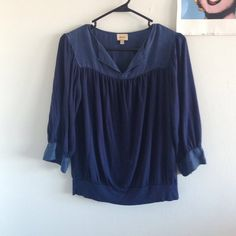 Gently used Ella Moss Top Gently used but still in great condition Anthropologie Tops