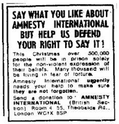 Amnesty International. 15 December, 1974