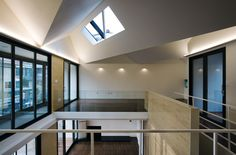 Image 4 of 28 from gallery of Gwacheon Residence / Kim Seunghoy (Seoul National University) + KYWC Architects. Photograph by Kim Jaekyung Korean Design, Seoul, University, Architecture, Arsenal, Gallery, Interiors, Furniture, Space