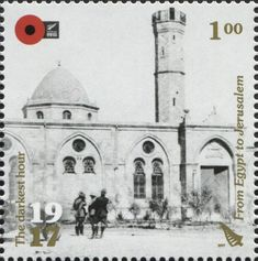 Stamp: From Egypt to Jerusalem (New Zealand) (100th Anniv. of WWI: 1917. The Darkest Hour.) Mi:NZ 3440,Sg:NZ 3880