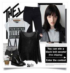"""""""Enter the contest here ➡➡➡"""" by yexyka ❤ liked on Polyvore featuring мода, BYRON, Sheinside и shein"""