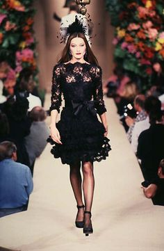 Yves Saint Laurent: Haute Couture Fall 1996