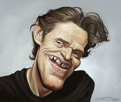 Willem Dafoe Artist: Jaume Cullell website: http://www.jaumecullell.com