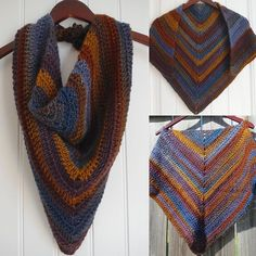 Garden Shawl/Scarf/Wrap - Mountain Range by BowsysBoutique http://etsy.me/2elFRUf #lionbrandyarn #crochetshawl #crochetwrap