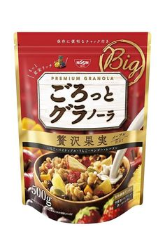 Nissin Gorotto Granola Luxury Fruit Cereal Pine Apple Mango 500g from Japan F/S  #Nissin