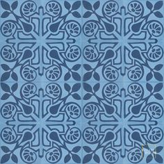 Brooklyn C6-43 - moroccan cement tile