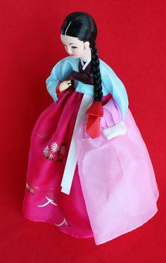 Coming Soon! Elegant Doll wearing beautiful Hanbok!