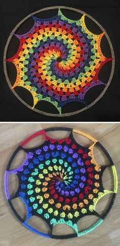 You will love this selection of Crochet Mandala Dream Catcher Ideas and there is something for everyone. We also have a video tutorial to show you how.
