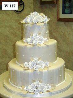 Carlo's Bakery - Floral Wedding Cake Designs I absolutely love this cake :) Beautiful Wedding Cakes, Gorgeous Cakes, Pretty Cakes, Amazing Cakes, Floral Wedding Cakes, Wedding Cake Designs, Cake Wedding, Wedding Ideas, Carlos Bakery Cakes