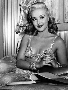 TIN PAN ALLEY (1940) - Betty Grable studies her script - 20th Century-Fox - Publicity Still.