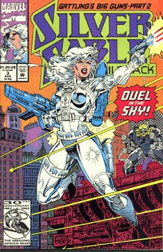 Silver Sable and the Wild Pack (Marvel Comics, 1992) #3